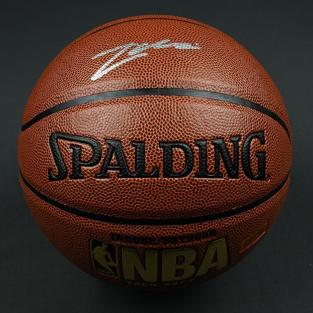 Zach Collins - Portland Trail Blazers - 2017 NBA Draft - Autographed Basketball