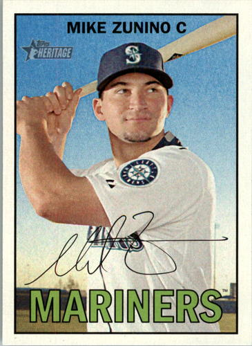 Photo of 2016 Topps Heritage #223A Mike Zunino