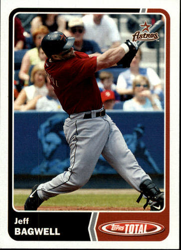 Photo of 2003 Topps Total #338 Jeff Bagwell