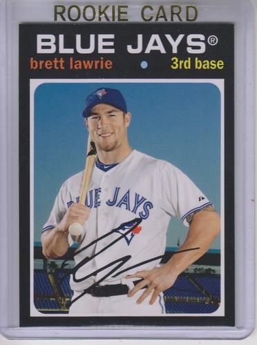 Photo of 2012 Topps Archives #97 Brett Lawrie RC