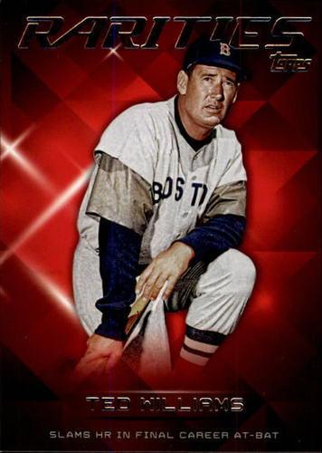 Photo of 2015 Topps Update Rarities #R4 Ted Williams