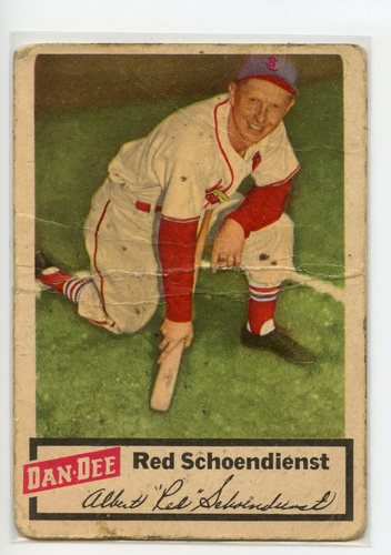 Photo of 1954 Dan-Dee #22 Red Schoendienst