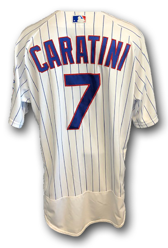 Photo of 12 Days of Auctions: Day 10 -- Victor Caratini Game-Used Jersey -- Cardinals vs. Cubs -- 9/22/19 -- Size 46