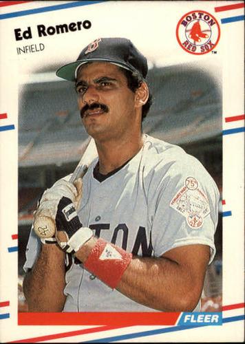 Photo of 1988 Fleer #362 Ed Romero