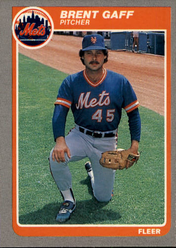 Photo of 1985 Fleer #80 Brent Gaff
