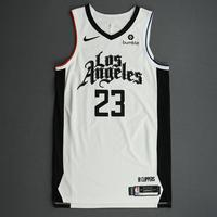 Lou Williams - Los Angeles Clippers - Game-Worn City Edition Jersey - 2019-20 Season - Scored Team-High 26 Points