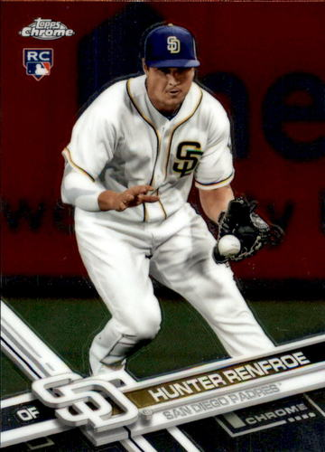 Photo of 2017 Topps Chrome #18A Hunter Renfroe RC