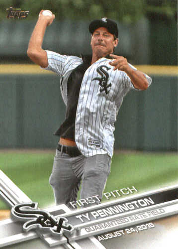 Photo of 2017 Topps First Pitch #FP34 Ty Pennington