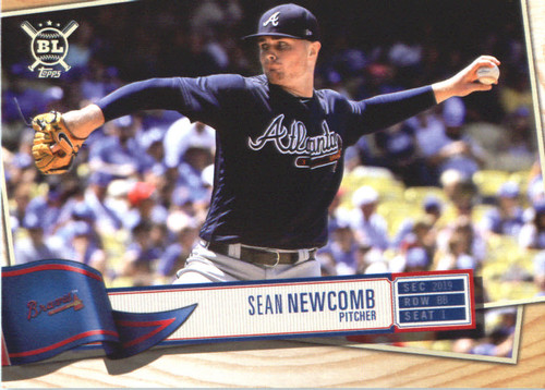Photo of 2019 Topps Big League #259 Sean Newcomb