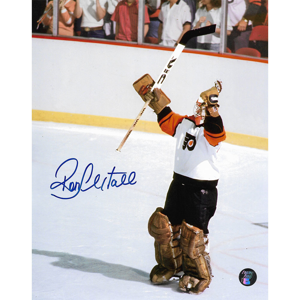 Ron Hextall Autographed Philadelphia Flyers 8X10 Photo