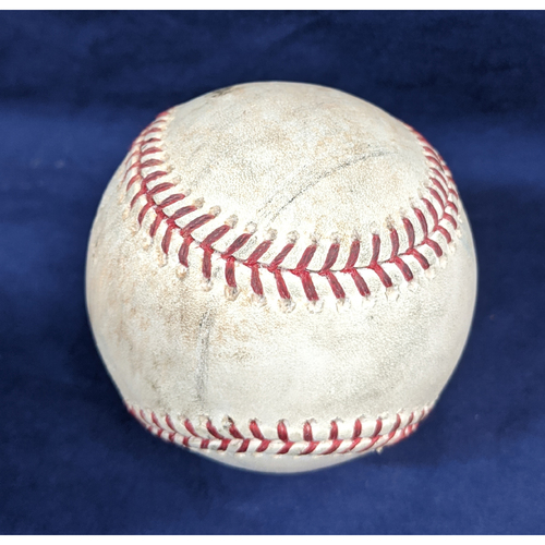 Photo of Game-Used Baseball 6/29/2018 - Pitcher - Rich Hill, Batter Ian Desmond - STRIKEOUT, Chris Iannetta - Ground Out, Noel Cuevas - Foul