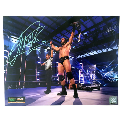 Photo of Drew McIntyre SIGNED Money In The Bank 11x14 (Random Number)