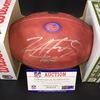 Bills - Lorenzo Alexander Signed Authentic Football W/ 100 Seasons and Bills Logos