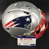 Patriots - Devin McCourty Signed Proline Helmet (slight Smudge)