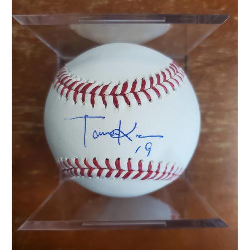 Photo of Autographed Baseball - Masahiro Tanaka