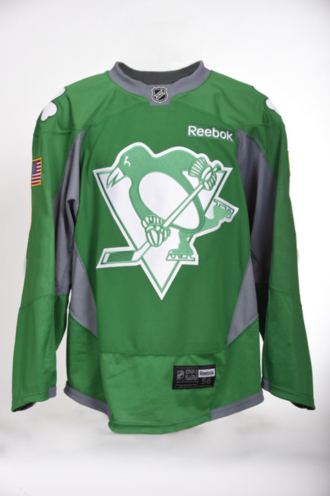 first rate 028d5 0b853 Pittsburgh Penguins St. Patrick's Day auction - Patric ...