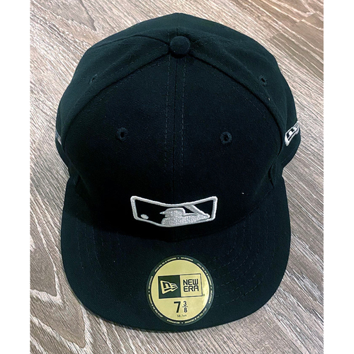 Photo of UMPS CARE AUCTION: Official Specialty MLB 150th Anniversary Umpire Base Cap, Size 7 3/8