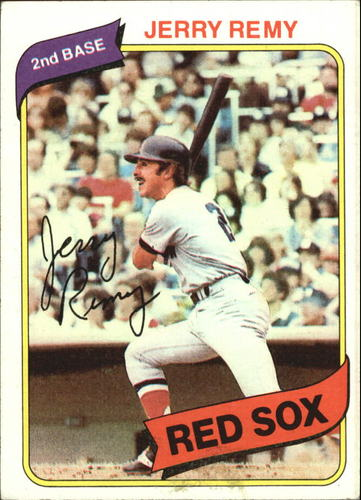 Photo of 1980 Topps #155 Jerry Remy