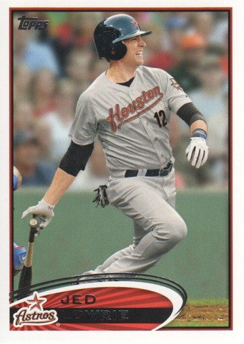 Photo of 2012 Topps #455 Jed Lowrie