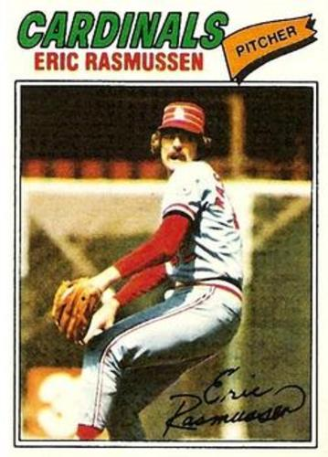 Photo of 1977 Topps #404 Eric Rasmussen RC