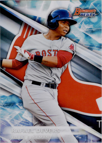 Photo of 2016 Bowman's Best Top Prospects Refractors #TP11 Rafael Devers