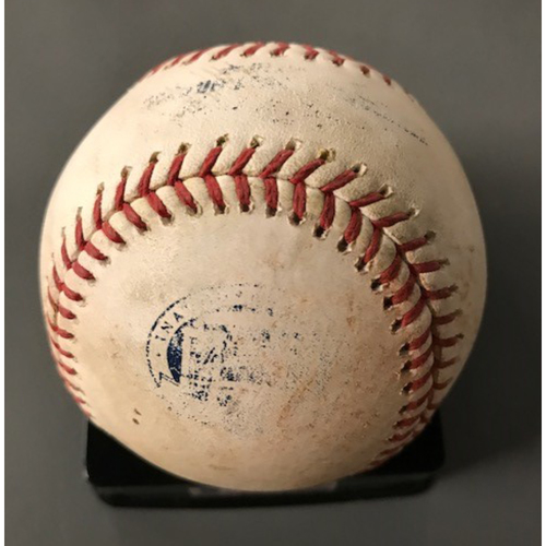 Johan Camargo and Ender Inciarte Game-Used Multi-Hit Baseball - June 19, 2017