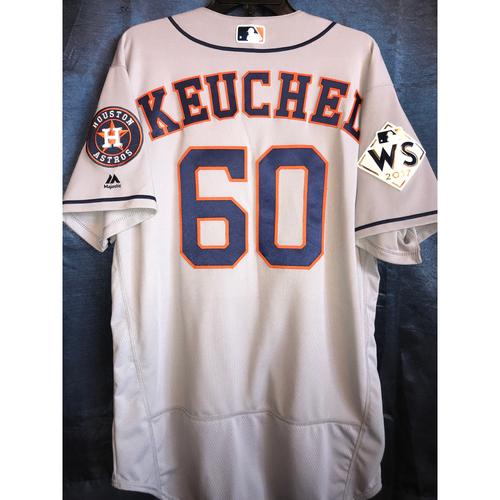 Photo of 2017 World Series Team-Issued Dallas Keuchel Road Jersey