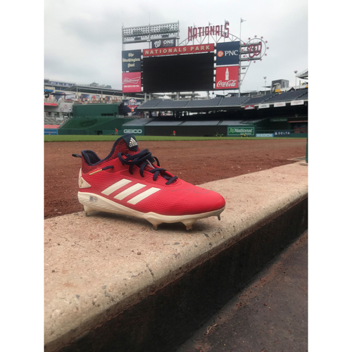 Photo of Autographed Trea Turner Right Cleat - Pair 1