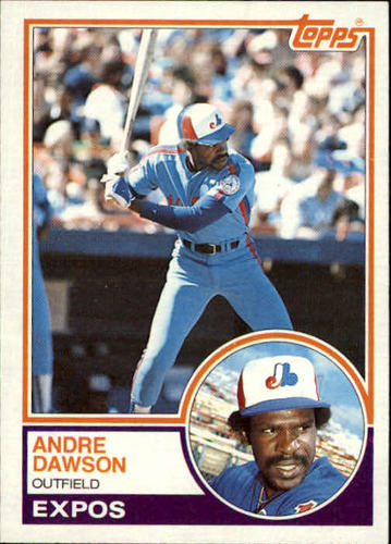 Photo of 1983 Topps #680 Andre Dawson