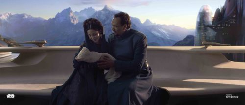 Bail Organa and Breha Organa