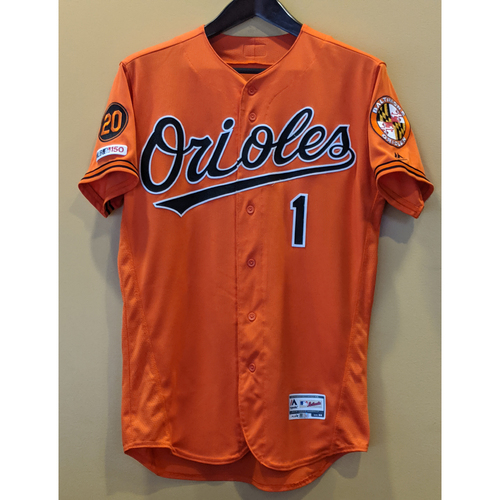 Photo of Richie Martin - Orange Alternate Jersey: Game-Used (Solo HR)