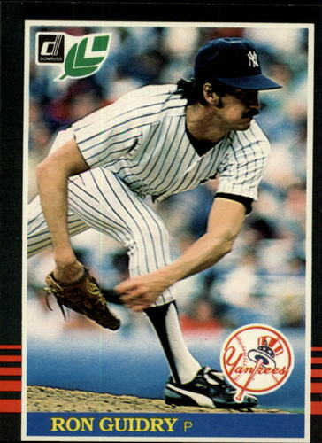 Photo of 1985 Leaf/Donruss #237 Ron Guidry