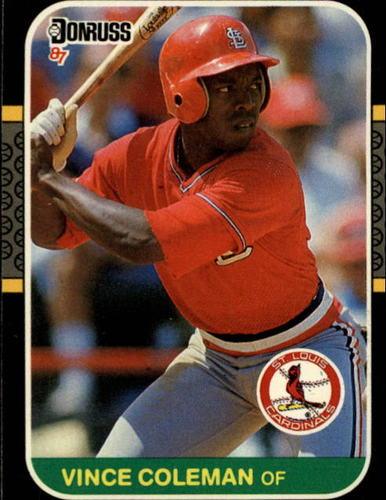 Photo of 1987 Donruss #263 Vince Coleman