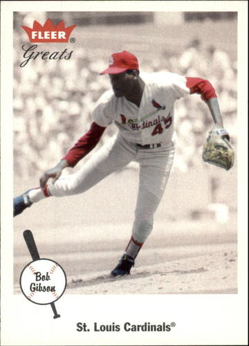 Photo of 2002 Greats of the Game #50 Bob Gibson