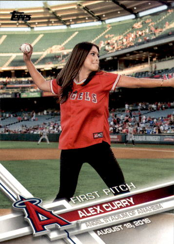 Photo of 2017 Topps First Pitch #FP36 Alex Curry