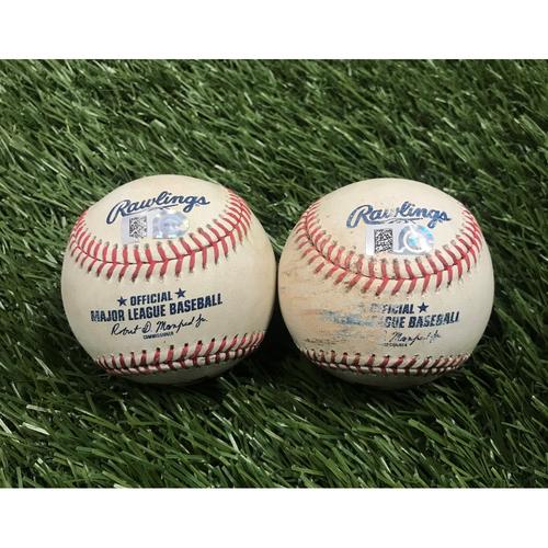Juan Soto and Matt Adams Hits and Victor Robles Hit Baseballs - July 23, 2019