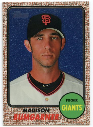 Photo of 2017 Topps Heritage Chrome #THC460 Madison Bumgarner