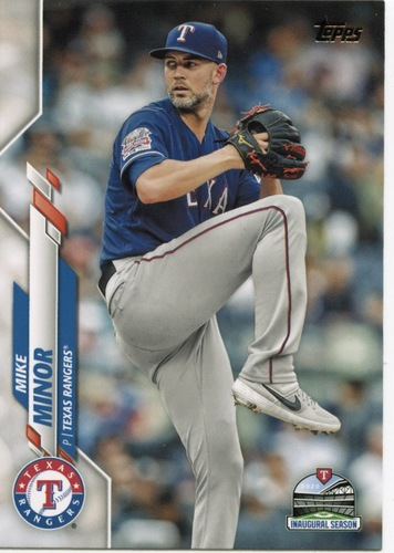 Photo of 2020 Topps #684 Mike Minor