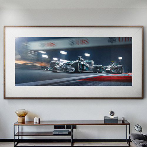 Photo of DUEL IN THE DESERT - FINE ART PRINT LIMITED EDITION 1 OF 5 - MERCEDES-AMG PET...