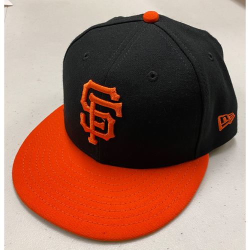 Photo of 2018-2019 Game Used and Team Issued Alternate Orange-Bill Caps - SELECT YOUR SIZE