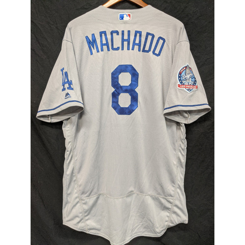 Photo of Manny Machado Team-Issued 2018 Road Jersey