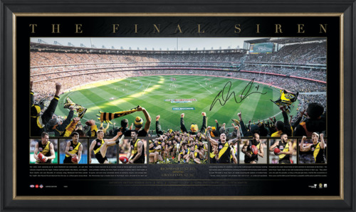 Photo of 2019 Premiers Signed Panoramic - Edition #1