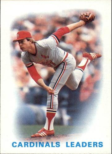 Photo of 1986 Topps #66 Cardinals Leaders/Bob Forsch