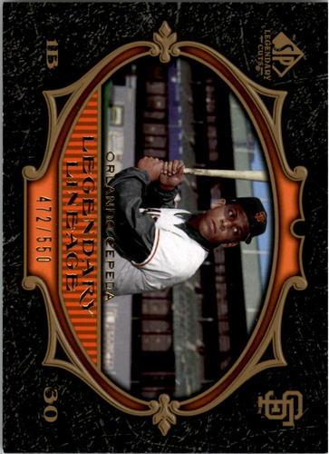 Photo of 2007 SP Legendary Cuts #187 Orlando Cepeda LL