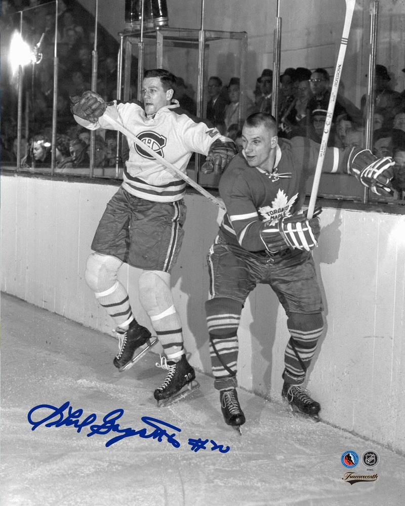 Phil Goyette - Signed 8x10 Unframed Canadiens