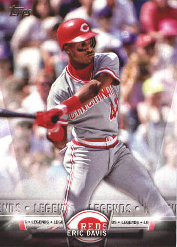 Photo of 2018 Topps Salute #TS40 Eric Davis