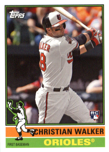 Photo of 2015 Topps Archives #182 Christian Walker RC