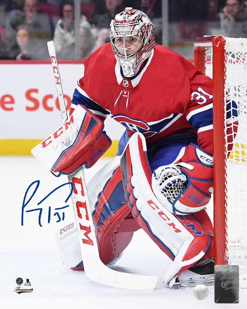 Carey Price Signed 8x10 Unframed Canadiens Action-V