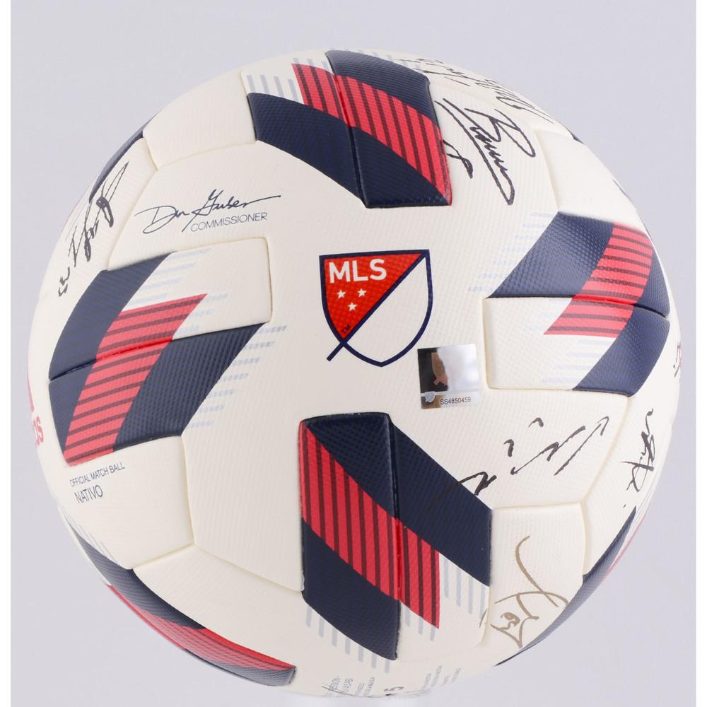 2414f9626 MLS All-Star Team Autographed 2018 MLS All-Star Ball - Fanatics ...