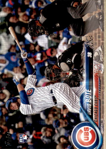 Photo of 2018 Topps Update #US273 David Bote RC